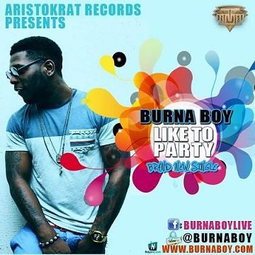 Burna Boy - Like To Party